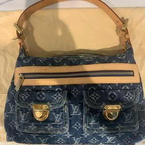 Louis Vuitton denim handbag 💯authentic